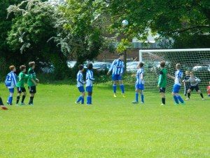 Jonty's free-kick finds the top corner